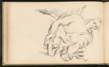 Study of an Angel in Rubens' The Prophet Elijah