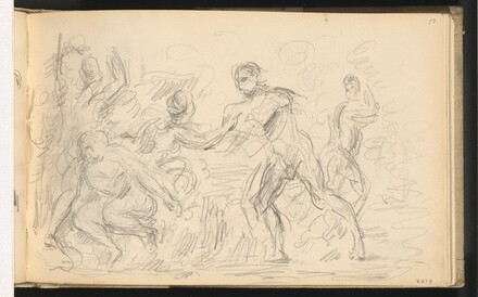Study for The Judgement of Paris or The Amorous Shepherd