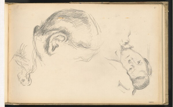 Three Heads, One of Madame Cézanne
