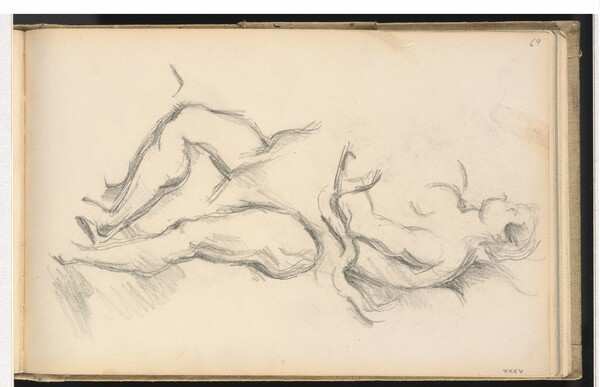 Study of the Allegorical Figure of the Genius of Health from Rubens' The Birth of Louis XIII at Fontainbleau