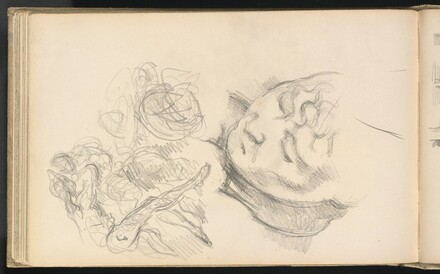 Studies Including Madame Cézanne