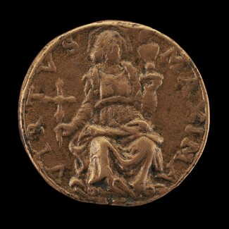 Virtue Enthroned [reverse]