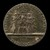 Renier Enthroned between Justice and Prudence [reverse]