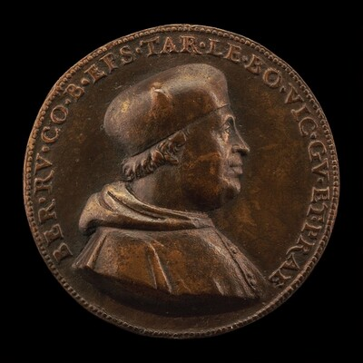 Bernardo de' Rossi, died 1527, Bishop of Treviso 1499, Governor of Bologna 1519-1523 [obverse]