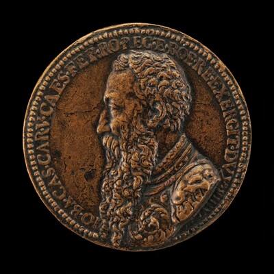 Giambattista Castaldi, died 1562, Count Piadena, General of Charles V [obverse]