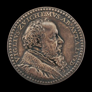 Viglius van Aytta of Zuichem, 1507-1577, Lawyer and Humanist [obverse]