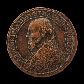 Gregory XIII (Ugo Buoncompagni, 1502-1585), Pope 1572 [obverse]
