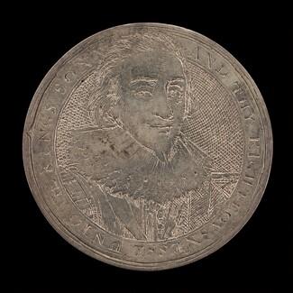 James I, 1566-1625, King of England 1603 [obverse]