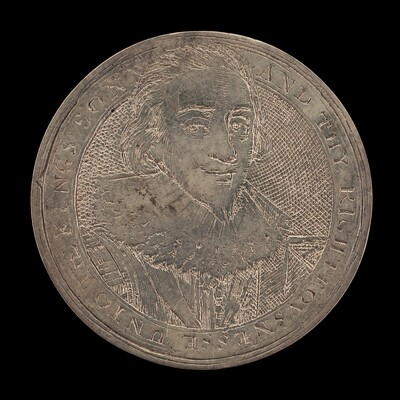 James I, 1566-1625, King of England 1603 [obverse]