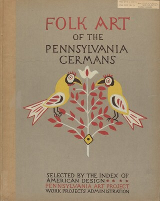 Study for Portfolio Cover: Folk Art of Rural Pennsylvania