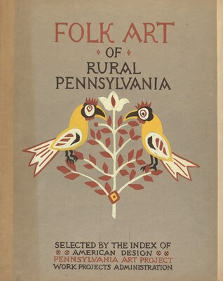 Study for Portfolio Cover: Folk Art of Rural Pennsylvania