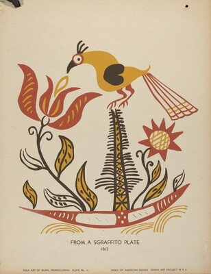 Plate 14: From Portfolio Folk Art of Rural Pennsylvania
