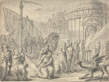 The Arrival of Aesculapius in Rome