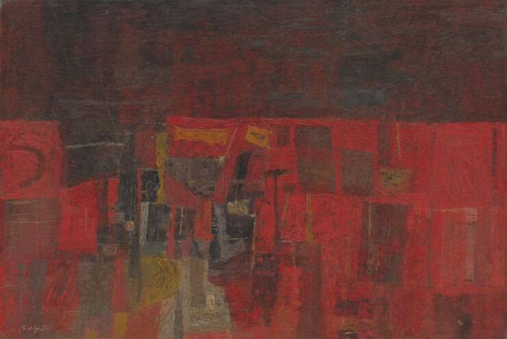 Philip Guston, Review, 1948-19491948-1949