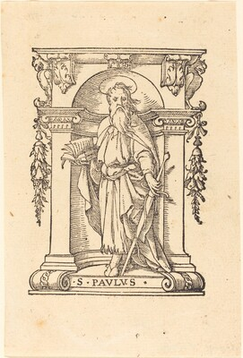 Saint Paul with Book and Sword