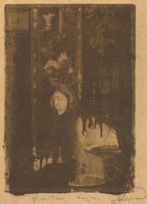 Woman with a Vase (La femme au vase)