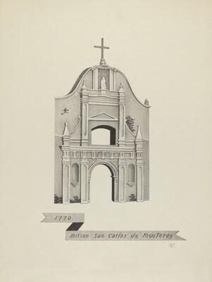 Mision San Carlos de Monterey