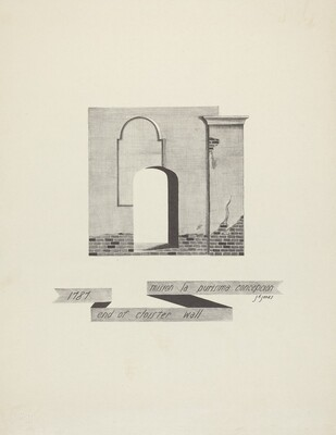 Mision La Purisima Concepcion - End of Cloister Wall