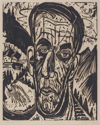 Head of van de Velde, Bright (Kopf van de Velde, Hell)