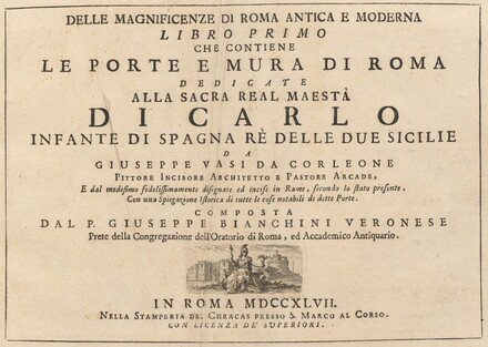 Delle Magnificenze di Roma Antica e Moderna (vol. 1)
