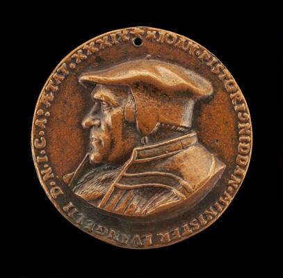 Johannes Pistorius,1504-1583, Theologian [obverse]