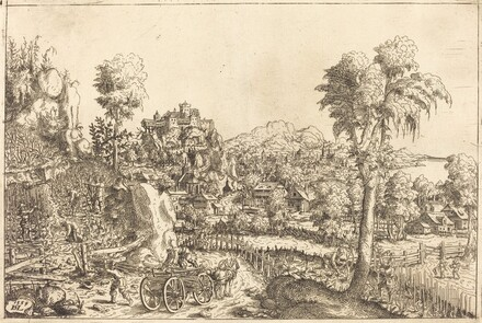 Landscape with a Vineyard