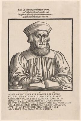 Johann Aventinus (Johann Turmair)