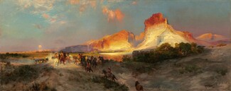 Thomas Moran, Green River Cliffs, Wyoming, 18811881