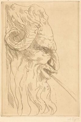 Head of a Satyr (Tete de satyre)
