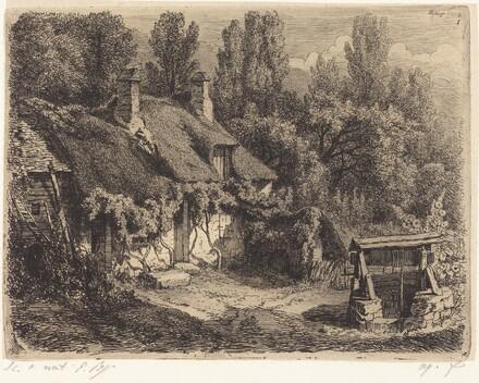 La chaumière au puits (Cottage with Well)