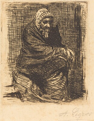 Old Woman Seated (La vieille femme assise)