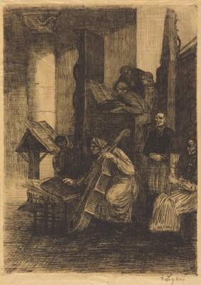 Choir in a Spanish Church (La choeur d'une eglise espagnole)