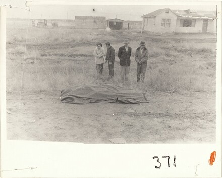 Car accident--U.S. 66, between Winslow and Flagstaff, Arizona