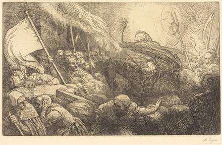 The Triumph of Death: Proclamation (Le triomphe de la mort: La proclamation)