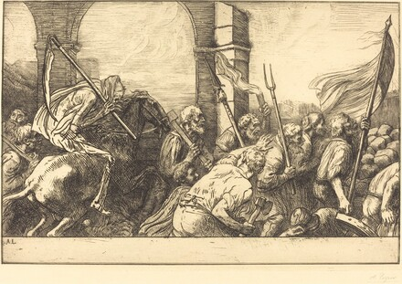 The Triumph of Death: Departure (Le triomphe de la mort: Le depart)