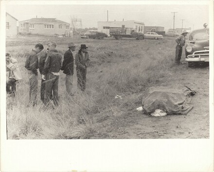 Car accident—U.S. 66 between Winslow and Flagstaff, Arizona