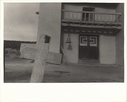 Adobe church--Las Trampas, New Mexico