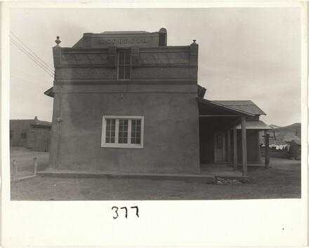 I. Cordova building--Santa Fe, New Mexico