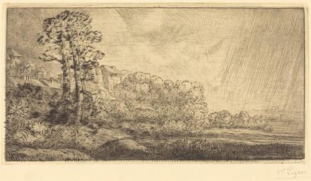 Landscape with Two Trees (Paysage aux deux arbres)