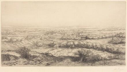 Valley in Bourgogne (Une vallee en Bourgogne)