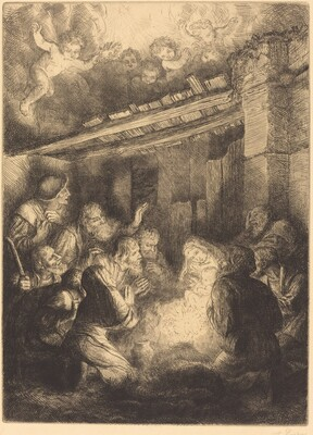 The Adoration of the Shepherds (L'adoration des bergers)