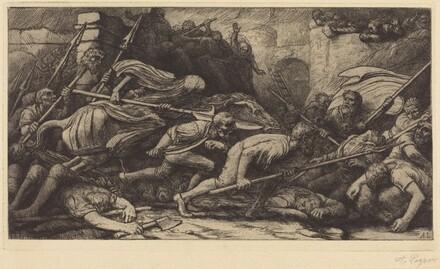 The Triumph of Death: Battle (Le triomphe de la mort: Le combat)