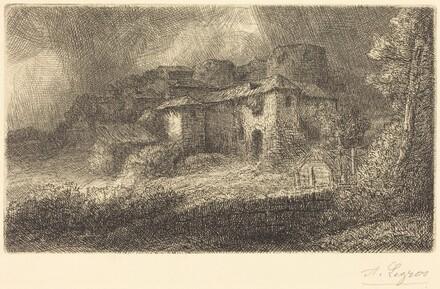 Ruins of a Chateau (Les ruins du chateau)