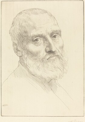 Study for Head of a Man (Etude de tete d'homme)