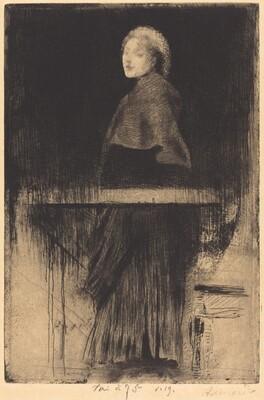 Woman with a Cape (La Femme à la Pelerine)