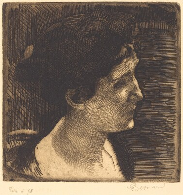 Woman in Full Profile (Grand profil de femme)