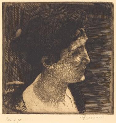 Woman in Full Profile (Grand profil de femme)