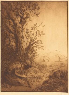 The Prodigal Son, 4th plate (L'enfant prodigue)