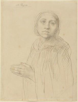 Study of Woman Praying