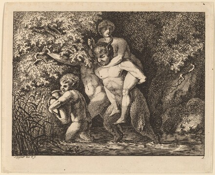 Satyr Carrying a Nymph